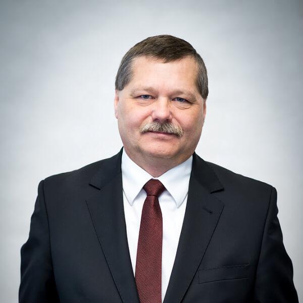 Na zdjęciu Zastępca Burmistrza Miasta i Gminy Pleszew Andrzej Jędruszek