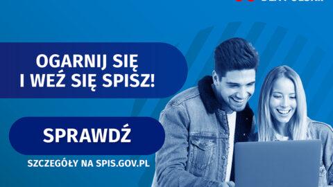 Reklama Narodowego Spisu Powszechnego