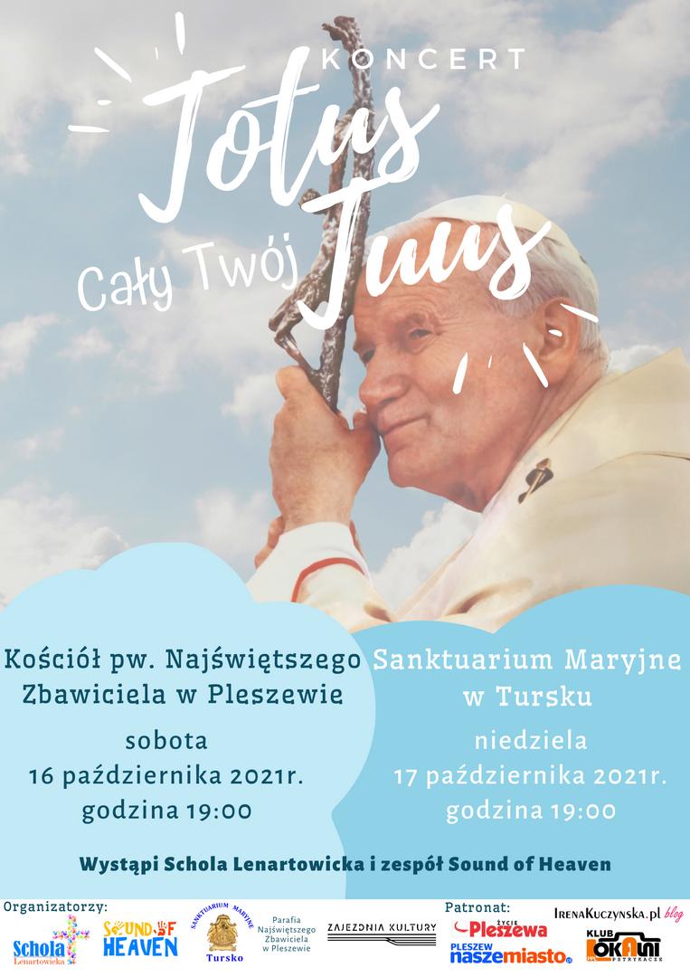 Plakat promujący wydarzene