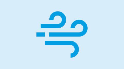 Obrazek przedstawia ikonę symbolizującą wiatr