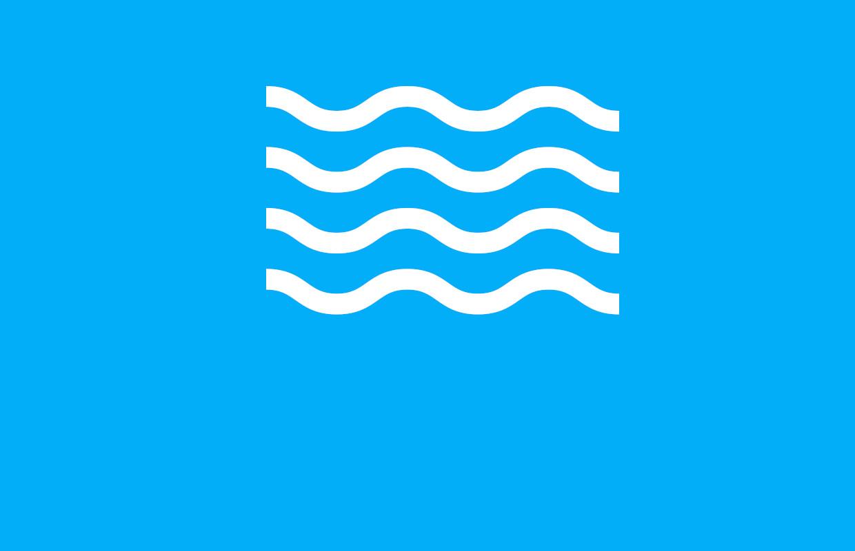 Obrazek przedstawia ikonę symbolizującą wodę